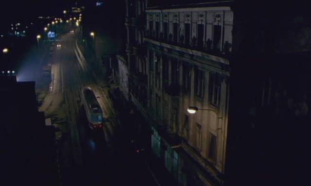 Empty dark street