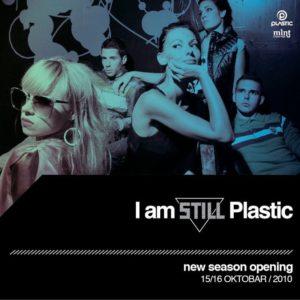 Ad for I am still Plastic